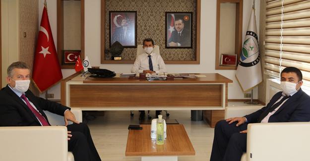 BİK Müdürü Çorbacı'dan Başkan Acar'a ziyaret