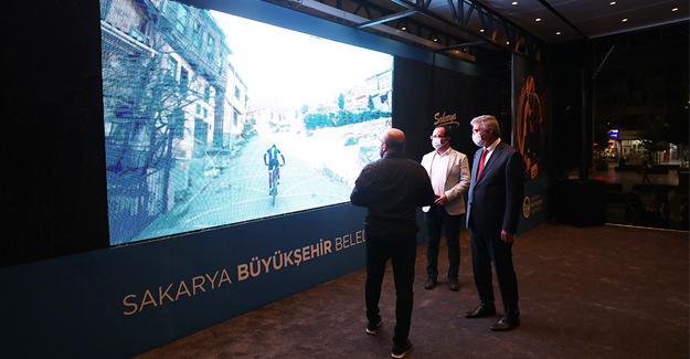 Bisiklet şampiyonası tanıtım tırı yola çıktı