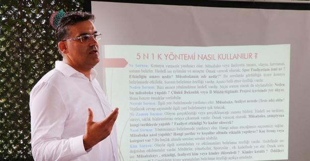 Gençlik ve Spor'da iletişim semineri