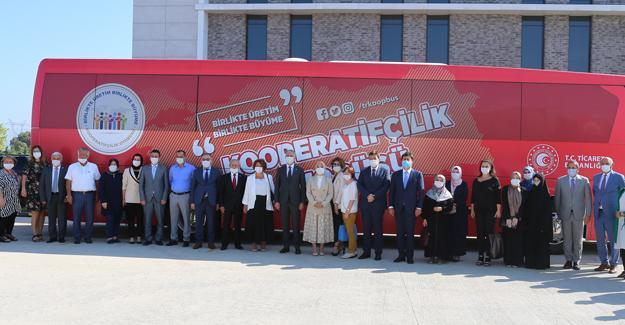 Kooperatifçilik otobüsü Sakarya'da