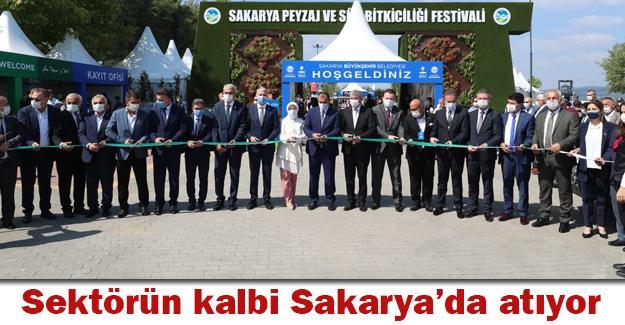 Peyzaj ve Süs Bitkiciliği Festivali başladı