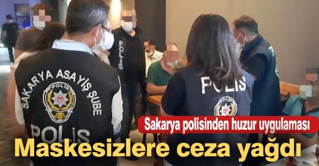 Sakarya polisinden huzur uygulaması