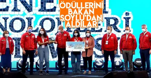 TEKNOFEST'te Türkiye birincisi oldular!