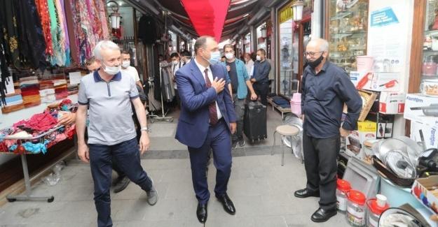 Vali Kaldırım'dan Adapazarı ziyareti