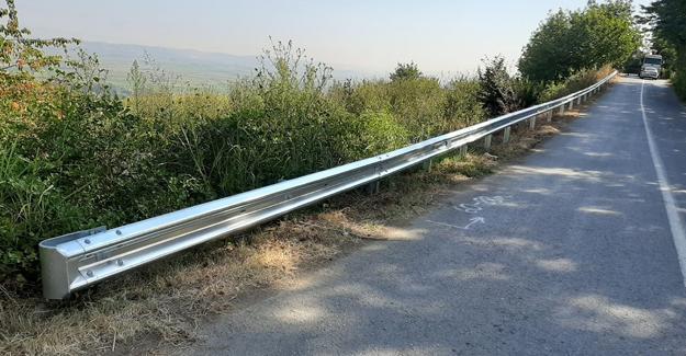 Yol kenarlarına bariyerli önlem