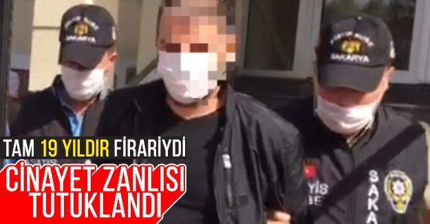 19 yıldır firari olan cinayet zanlısı yakalandı