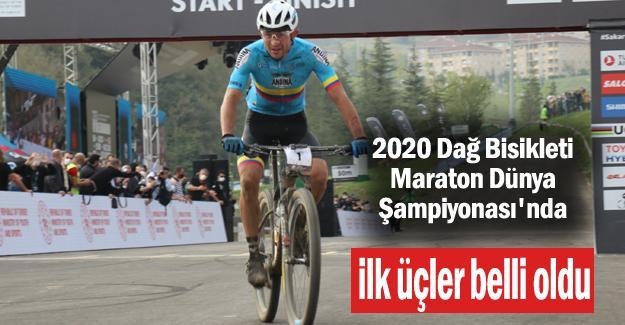 2020 Dağ Bisikleti Maraton Dünya Şampiyonası'nda ilk üçler belli oldu
