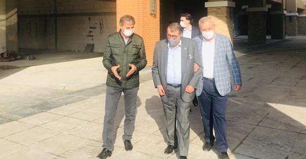 Abdulkadir Aksu Alemdar'a misafir oldu