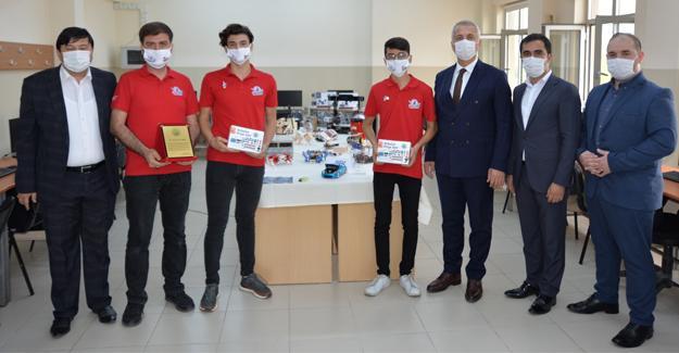 Başkan Babaoğlu'ndan TEKNOFEST başarısına ödül