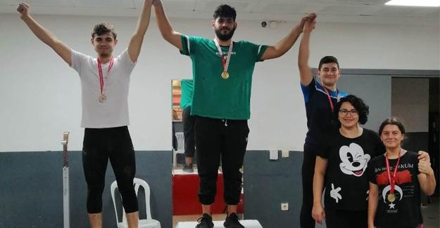 Halterde Cumhuriyet Kupası Turnuvası sona erdi