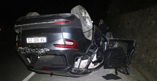 Kazada otomobil hurdaya döndü! Sürücünün burnu bile kanamadı