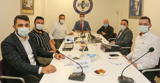 SATSO 5. Meslek Komitesi'nden sektörel istişare toplantısı