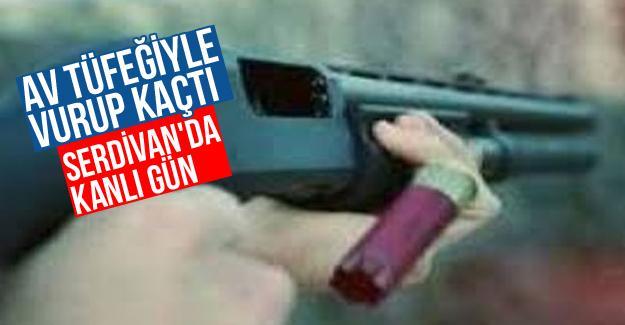 Serdivan'da kanlı gün