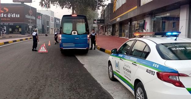 Toplu taşımada COVID-19 denetimleri arttı