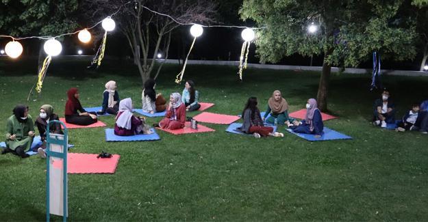 Yabancı öğrenciler için moral gecesi düzenlendi