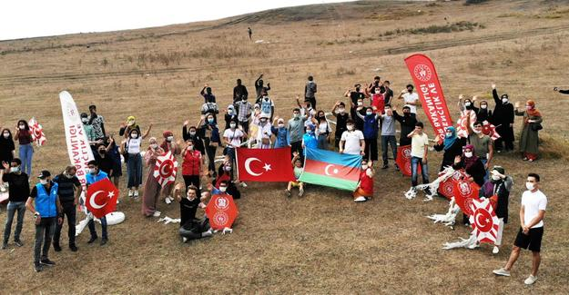 Yabancı öğrencilerden Azerbaycan'a destek mesajı