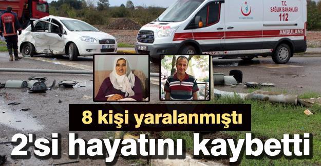 8 kişi yaralanmıştı! 2'si hayatını kaybetti