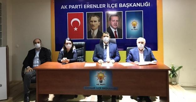 AK Parti Erenler'de ilk toplantı yapıldı