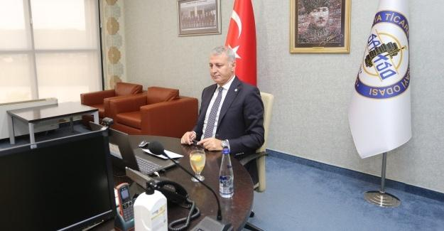 Başkan Altuğ, iş dünyası ile buluşma konferansına katıldı
