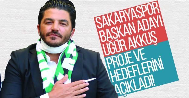 Başkan adayı Akkuş, proje ve hedeflerini açıkladı!