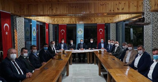 Başkanlar Akyazı'da toplandı