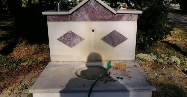 Cami şadırvanlarından musluk çalan hırsızlar yakalandı
