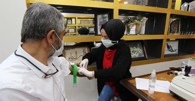 GSB Sakarya personeli sağlık taramasından geçiyor