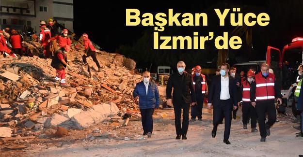 """""""İzmir'in ve İzmirli kardeşlerimizin yanındayız"""""""