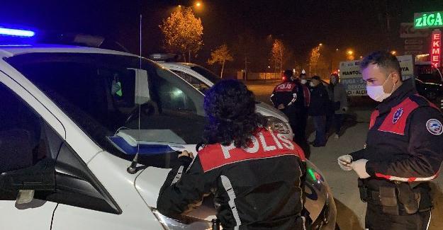 Karasu'da kısıtlamalara uymayan 35 kişi ve 5 işletmeye ceza kesildi