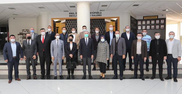 ÜTİK Yönetim Kurulu'ndan SATSO'ya Ziyaret