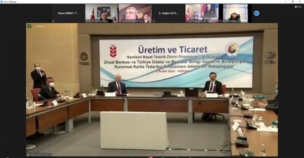 TOBB ve Ziraat Bankası'ndan güvenli ticarette önemli adım