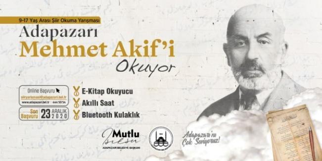 Adapazarı Mehmet Akif'i okuyor