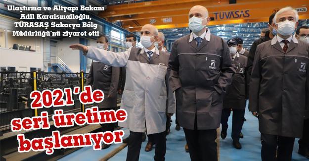 Bakan Adil Karaismailoğlu, TÜRASAŞ Sakarya Bölge Müdürlüğü'nü ziyaret etti
