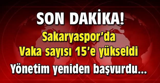 Sakaryaspor'da vakalar yine yükseldi!