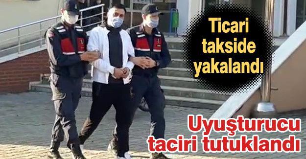 Ticari takside uyuşturucuyla yakalandı