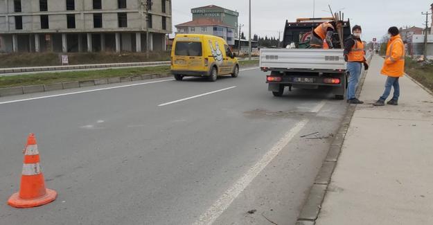 Ticari taksinin çarptığı şahıs hastanede hayatını kaybetti