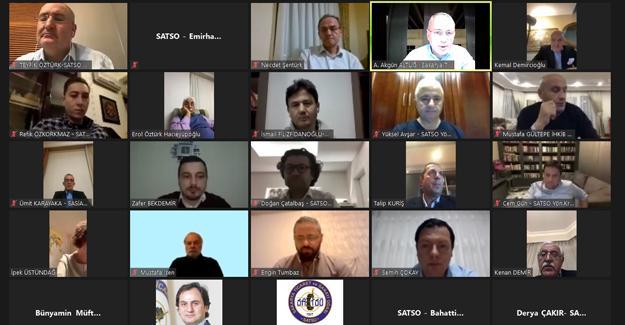 Yılın son yüksek istişare kurulu toplantısı online yapıldı