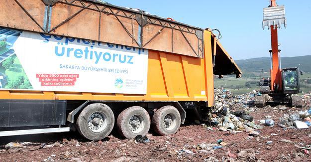 2020 yılında 60 bin kişinin elektriği çöpten üretildi