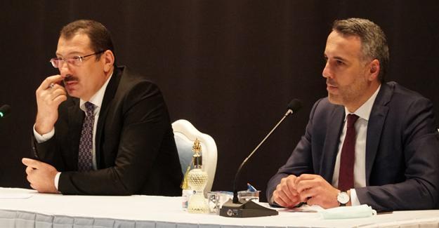 AK Parti yeni yönetiminden ilk toplantı
