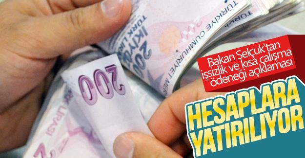 Bakan Selçuk'tan işsizlik ve kısa çalışma ödeneği açıklaması