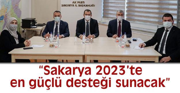 İl Başkanları toplantısı yapıldı