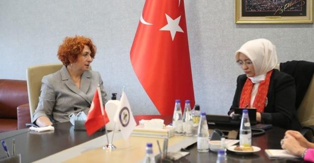 Kadın Girişimciler Milletvekili Atabek'i ağırladı