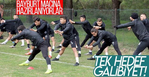 Sakaryaspor, Bayburt maçına hazırlanıyor!