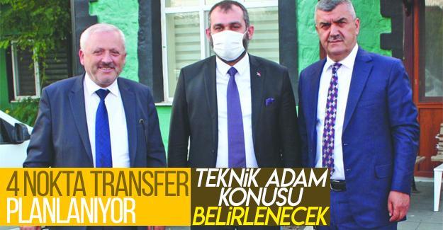 Sakaryaspor'da 4 nokta transfer planlanıyor
