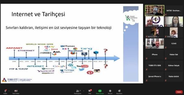 SATSO üyelerine dijital ödeme sistemleri eğitimi