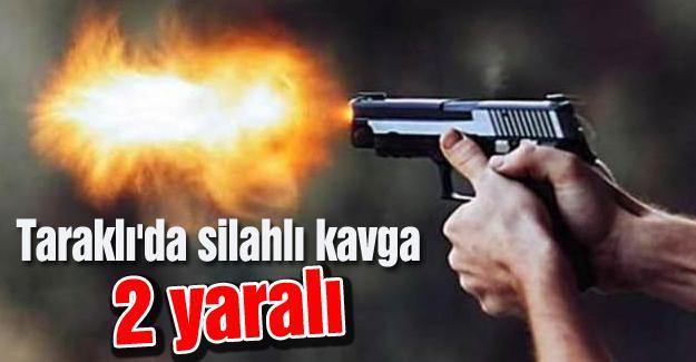 Taraklı'da silahlı kavga! 2 yaralı
