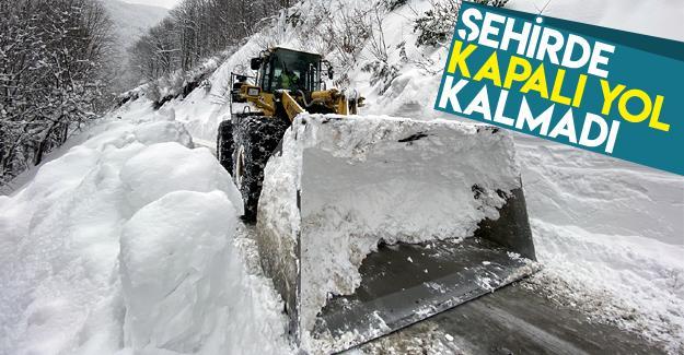 276 grup mahalle yolu ulaşıma açıldı