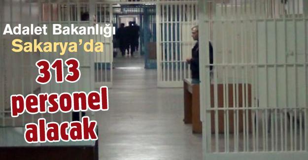 Adalet Bakanlığı Sakarya'da 313 personel alacak