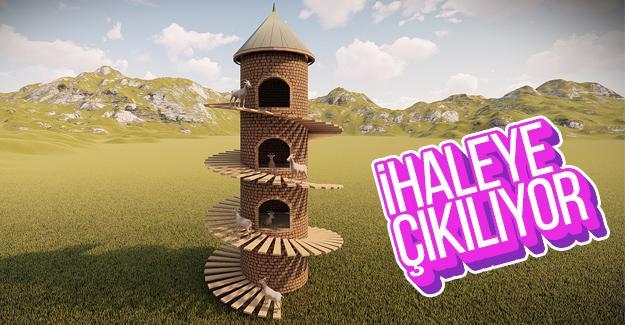 Donatım Parka Keçi Kulesi yapılacak