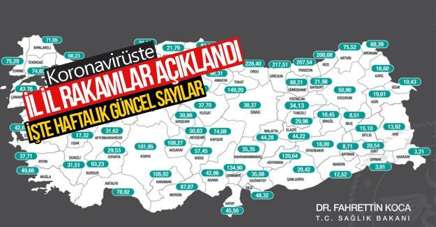 İşte Sakarya'daki güncel koronavirüs sayısı